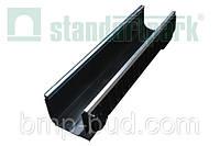 Лоток водоотводной PolyMax Basic ЛВ-20.26.20-ПП пластиковый усиленный 8547