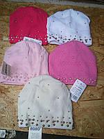 Весенняя вязанная шапочка для девочки , фото 1