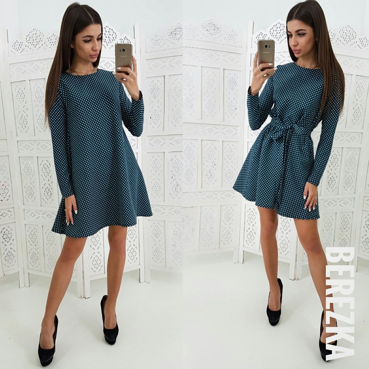Стильное платье  № 140