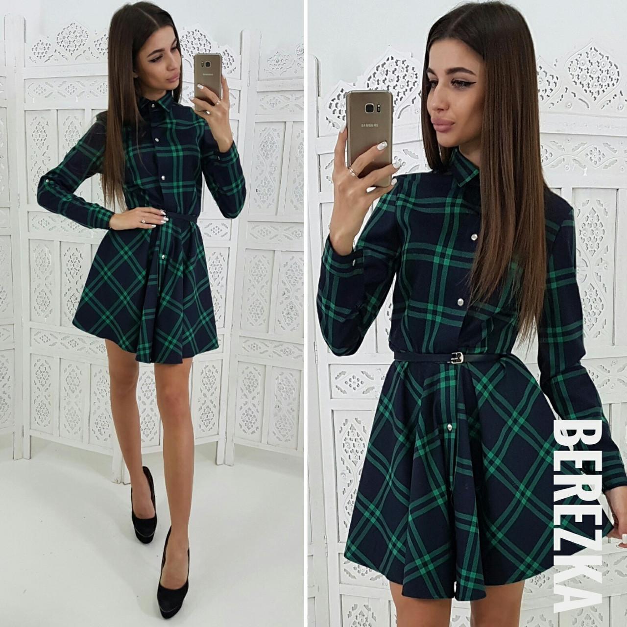 Стильное платье  № 186