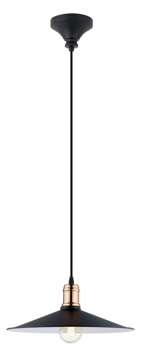 Подвесной светильник Eglo BRIDPORT 49452 черный/металл