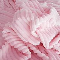 Плюш Страйпс  розовый