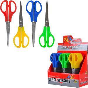 Ножницы «Офисные» цветные №6    CF604, фото 2