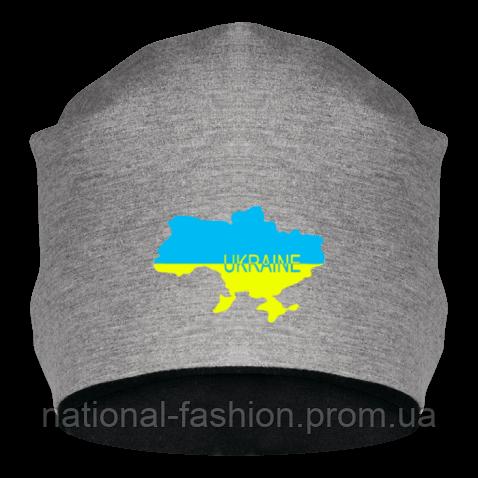 Шапка Карта Ukraine