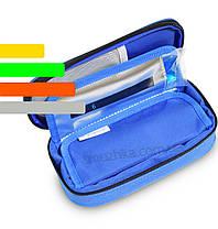 Термочехол для инсулина 2 в 1 со встроенным термометром синий, фото 2