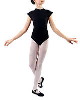 Купальник для танцев с короткими рукавом Dance&Sport N 025, хлопок