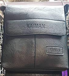 Сумка планшет«Kaiman» черного цвета