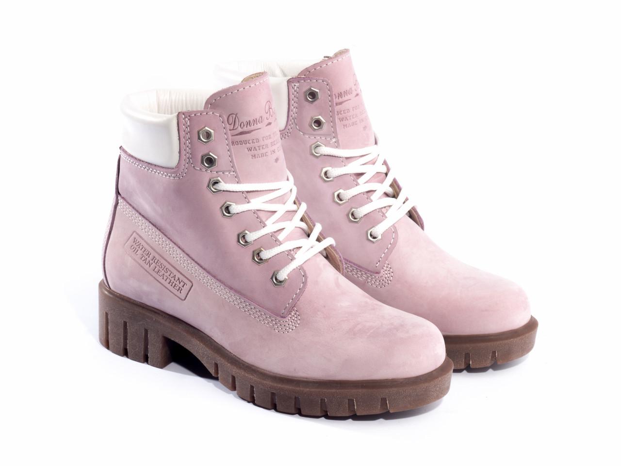 Ботинки Etor зимние 5169-021554-710-1 36 розовые