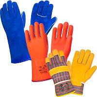 Рабочие перчатки и рукавицы — виды согласно сфер деятельности