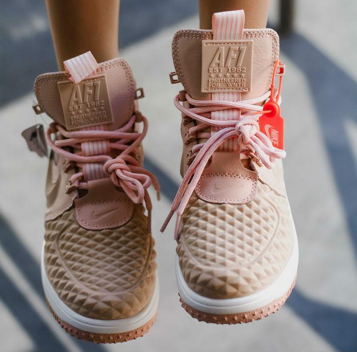 c4c9494de Nike Lunar Force Duckboot 2 Pink | ботинки/кроссовки женские; высокие;  розовые;