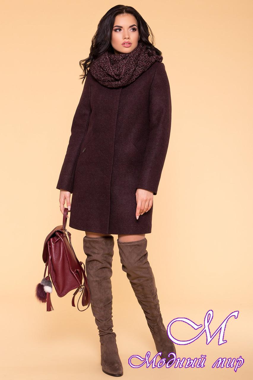 Зимнее кашемировое пальто женское (р. S, М, L) арт. Сплит 5834 - 39406