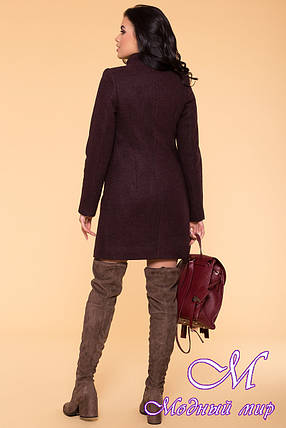 Зимнее кашемировое пальто женское (р. S, М, L) арт. Сплит 5834 - 39406, фото 2