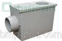 Дождеприемник PolyMax Basic ДП-26.14-ПП пластиковый с боковым водоотводом