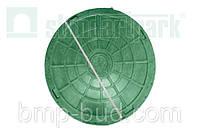 Люк пластиковый (зеленый)