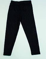 Трикотажні утеплені лосини для дівчинки ріст 92-110 см, фото 1