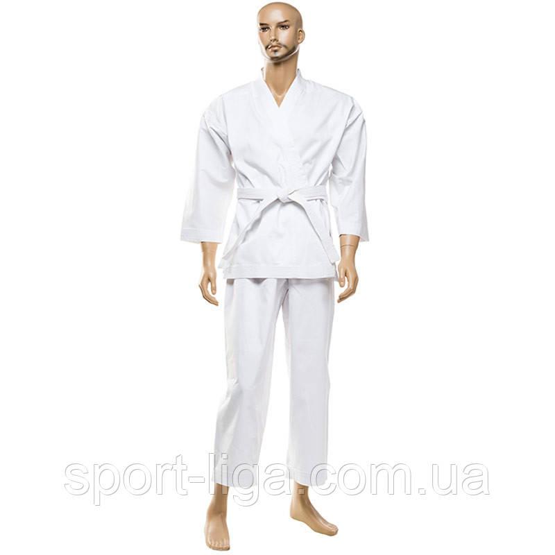 """Кимоно для карате """"Tiger"""" (рубчик) 130-190 см, хлопок 100%"""