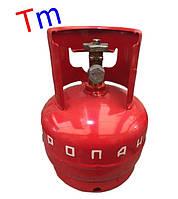 Баллон газовый бытовой Novogas 5 литров (Беларусь)