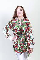 Курточка удлиненная в стиле Матрешка
