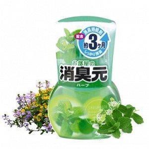 "Жидкий дезодорант  для комнаты с ароматом трав ""Oheyano Shoshugen"" 400 мл (8160), фото 2"