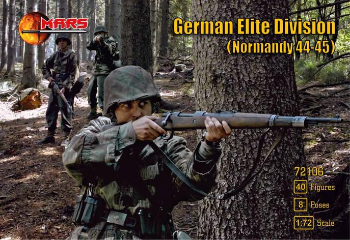 Немецкое элитное подразделение, Нормандия 1944-1945 гг. 1/72 MARS 72106, фото 2