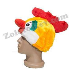 Карнавальная маска Петух