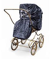 Elodie Details Дождевик для коляски Stockholm Black Edition