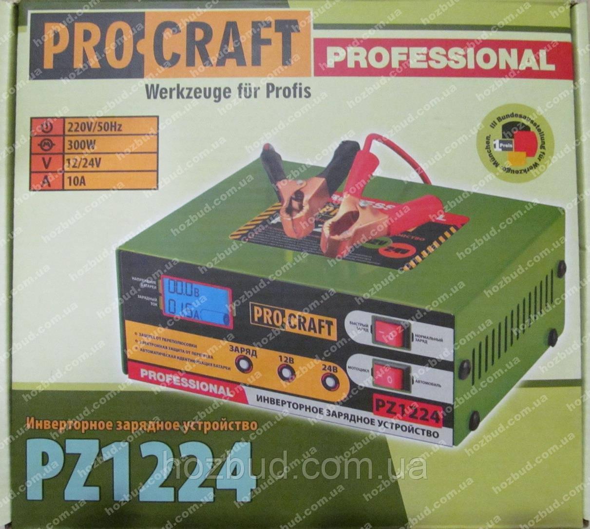 Зарядний пристрій PROCRAFT PZ1224