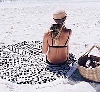 Podarki Пляжный Коврик Black Style УЦЕНКА, фото 1