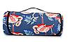 Podarki Водонепроницаемый коврик для пикника Фламинго (Blue)
