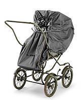 Elodie Details Дождевик для коляски Stockholm Golden Grey