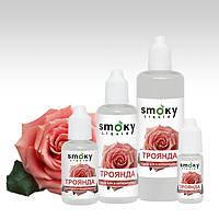 Жидкость для электронных сигарет Тонизирующие - SMOKY Liquid Роза, 6 мг - легкие, 120 мл.