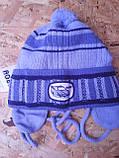 Весенняя вязанная шапочка для мальчика , фото 3