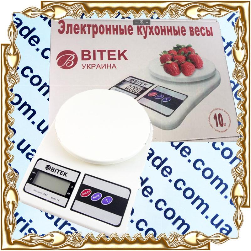 Весы кухонные Вітек SF-400 10 кг.
