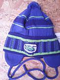 Весенняя вязанная шапочка для мальчика , фото 5