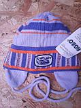 Весенняя вязанная шапочка для мальчика , фото 6