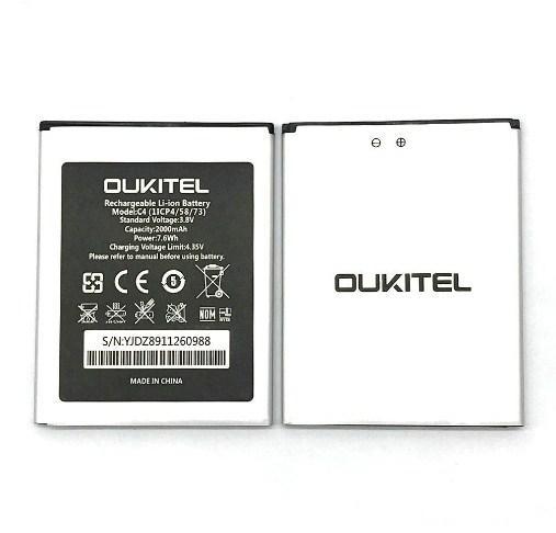 Аккумулятор для Oukitel C4 оригинал