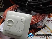 Электрический нагревательный кабель Fenix, 3,4 м.кв. (Акционная цена с механическим регулятором)