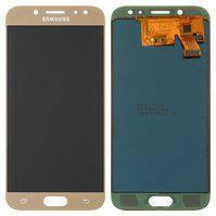 Дисплей для мобильного телефона Samsung J530F Galaxy J5 (2017), золотистый, с сенсорным экраном, (OLED), High Copy