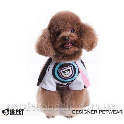 "Футболка  ""Гипноз"" для собаки IS PET. Одежда для собак."