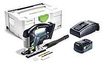 Аккумуляторный маятниковый лобзик PSBC 420 Li 5,2 EBI-Plus CARVEX Festool 575679