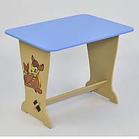 """Дитячий столик 6223 """"Оленятко Бембі"""" блакитний"""
