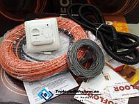 Кабель нагрівальний Fenix (Чехія) тепла підлога, 5,8 м. кв. (Акц ціна з регулятором), фото 1