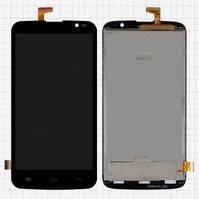Дисплей для мобильных телефонов BLU D790U Studio G; Gigabyte GSmart Roma RX, черный, с сенсорным экраном, #CAV4021-A FPC-QTB5D0388-A0-A