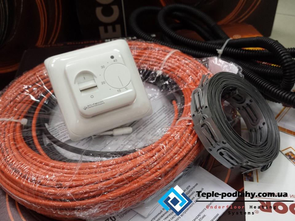 Кабель нагрівальний Fenix для теплої підлоги, 10 м. кв. ( Повний комплект з регулятором)