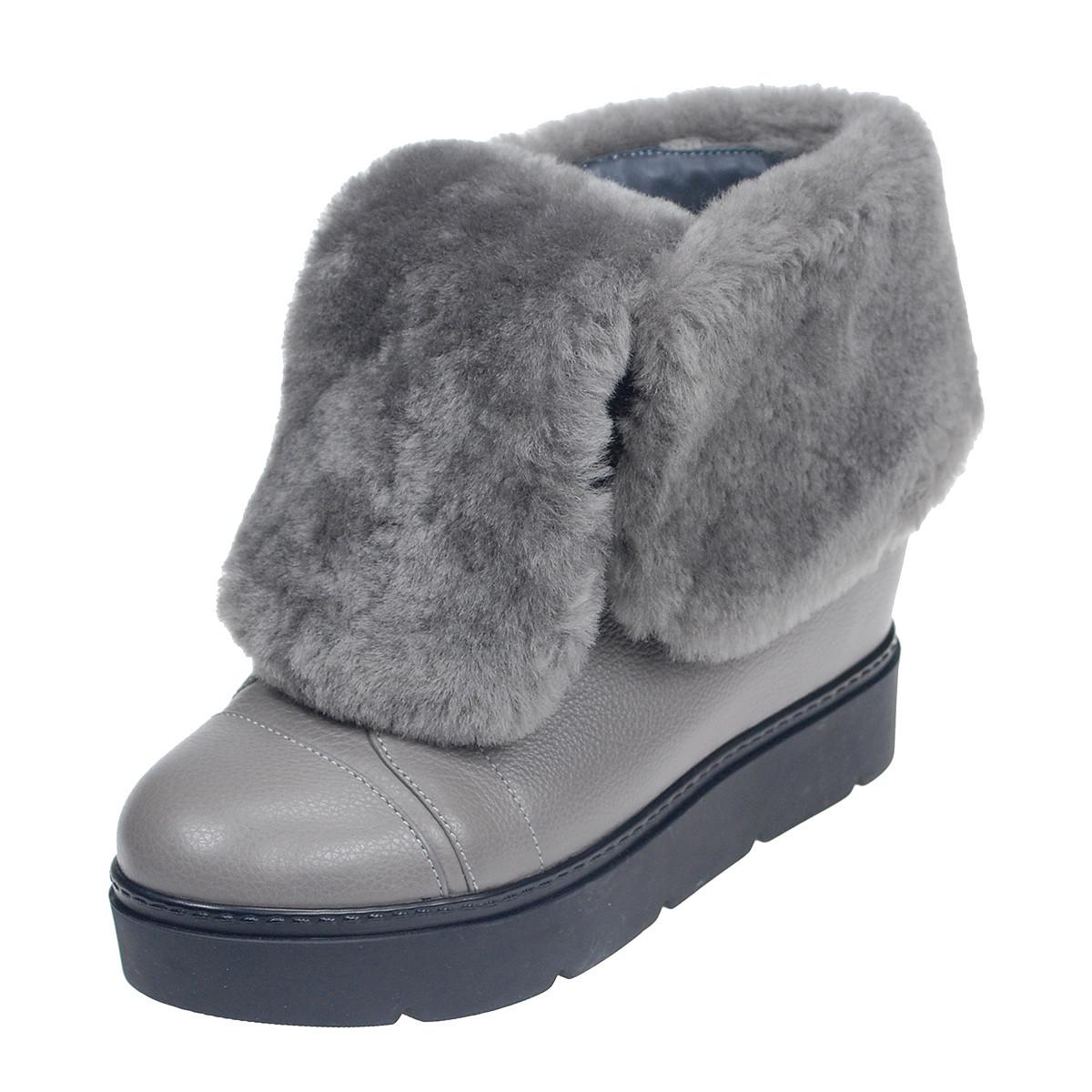 Шкіряні черевики жіночі зимові розміри 36-40