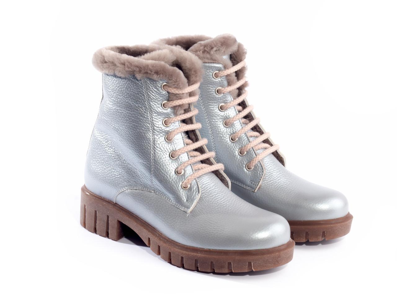 Ботинки Etor 6623-21554-13453 37 серые
