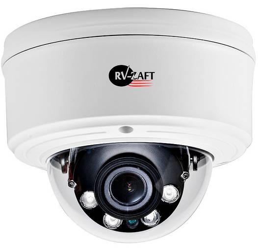 5MP купольная профессиональная IP Камера с инфракрасной подсветкой RVA-DM365ACB85-ZP