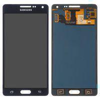Дисплей для мобильных телефонов Samsung A500F Galaxy A5, A500FU Galaxy A5, A500H Galaxy A5, A500M Galaxy A5, черный, с сенсорным экраном, без