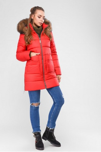 Зимняя куртка 39 Красный