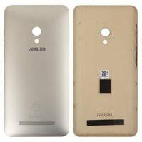 Задняя панель корпуса для мобильного телефона Asus ZenFone 5 (A501CG), золотистая, с боковыми кнопками